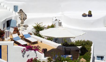Balkon Ideen mediterraner Stil