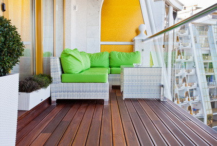 Balkonmöbel Lounge - Balkon Ideen