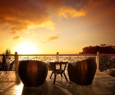 Balkon Tipps Westbalkon Sonnenuntergang