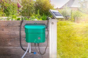 Automatisches Solar Bewässerungssystem - Escotec