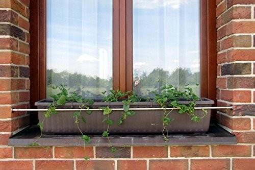 Blumenkastenhalterung für Fenster ohne bohren zum einspannen