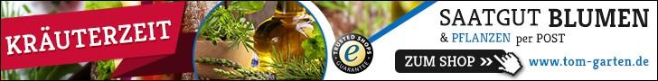 Online Gartencenter Shops - Vergleich Tom-Garten Kräuter