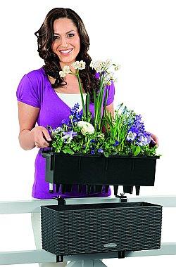 Blumenkästen mit Wasserspeicher 80cm