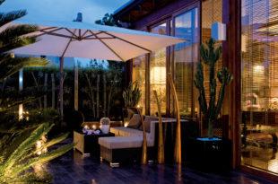 Balkon Licht Atmosphäre